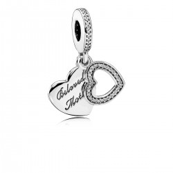 PANDORA - CHARM BELOVED MOTHER CIRCONITA PLATA