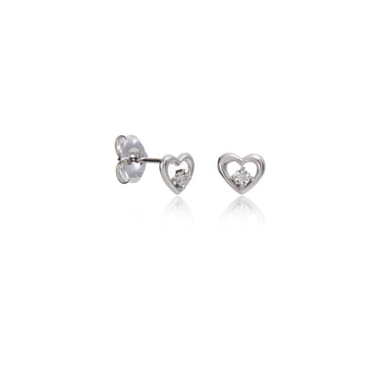 Pendientes Corazón Diamante