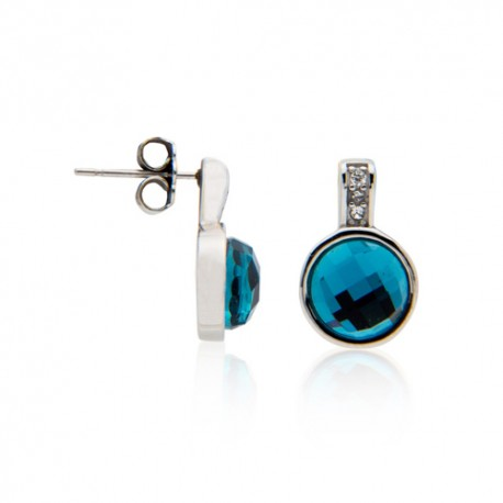 Pendientes Steel Color