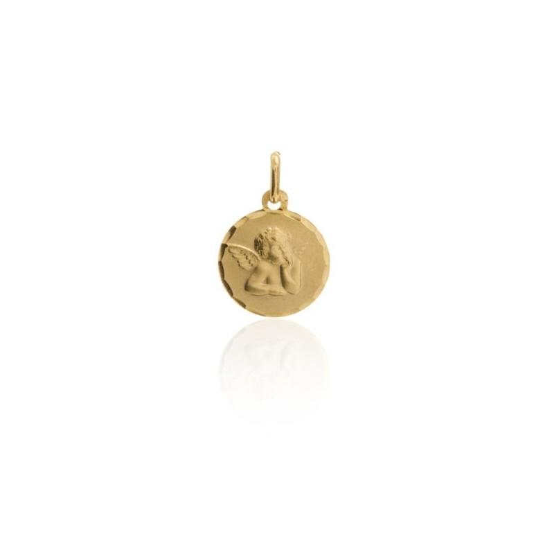 Colgante Medalla Angel de la Guarda