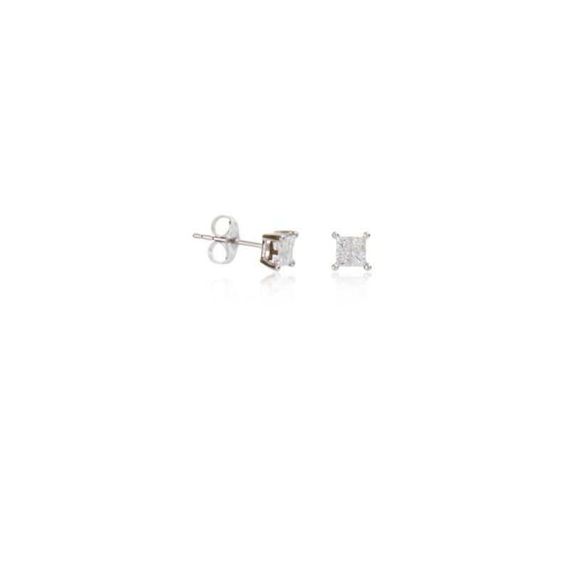 Pendientes Diamante Cuadrado