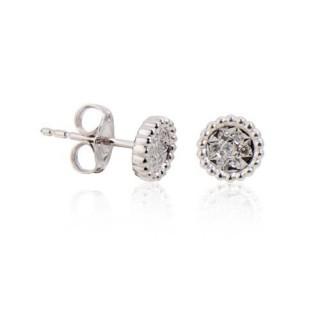 Pendientes 14 Diamantes