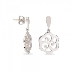Pendientes Largos Flor Lovely Blossom