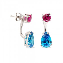 Pendientes Passion Color Blue