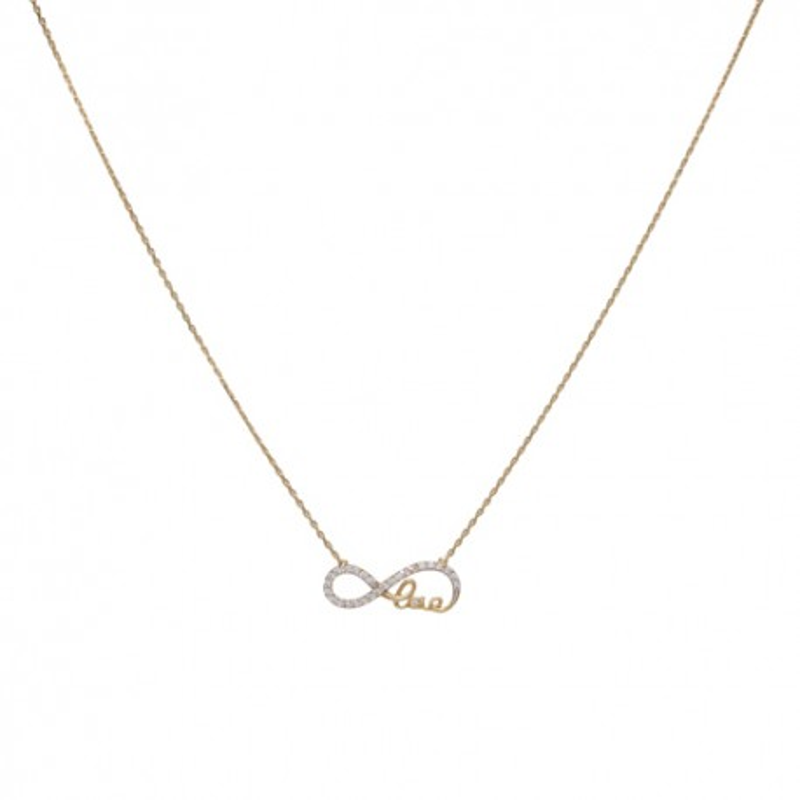 Collar Infinity Love