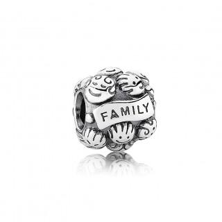 PANDORA - CHARM FAMILY PRATA
