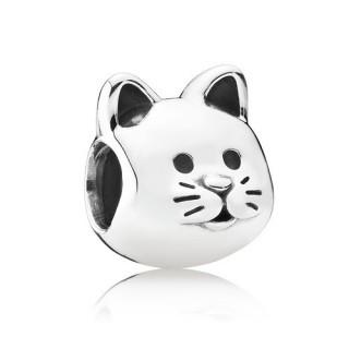 PANDORA - CHARM CAT PRATA