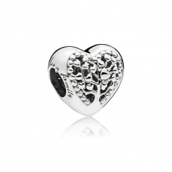 PANDORA - CHARM TREE LOVE PRATA
