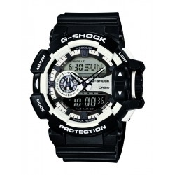 RELOJ CASIO G-SHOCK ANALÓGICO-DIGITAL RESINA GA-400-1AER