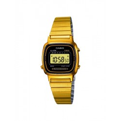 RELOJ CASIO COLLECTION DIGITAL ACERO LA670WEGA-1EF PARA MUJER