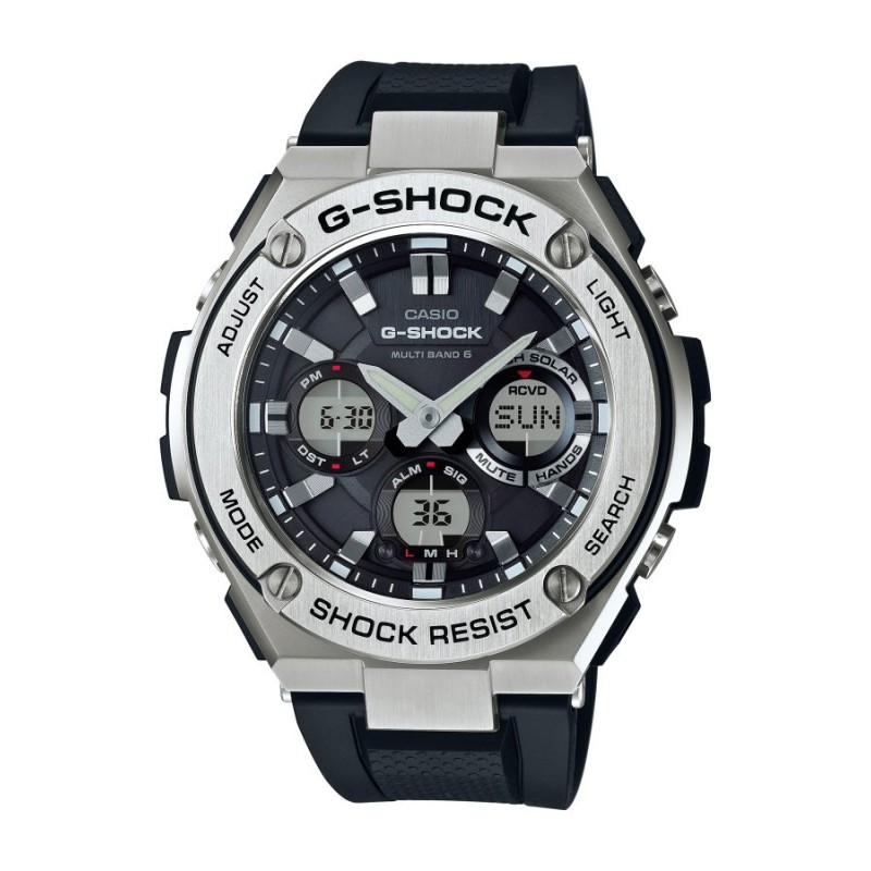 lo último e2d87 cd1ed RELOJ CASIO G-SHOCK STEEL ANALÓGICO-DIGITAL RESINA GST-W110-1AER