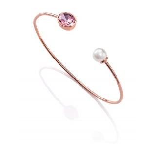 Viceroy - Pulsera rígida, perla, rosa