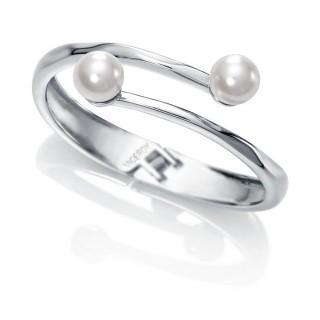 Viceroy - Pulsera rígida con perlas