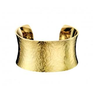 Calvin Klein - Pulsera rígida Open Dawn, talla XS, dorada