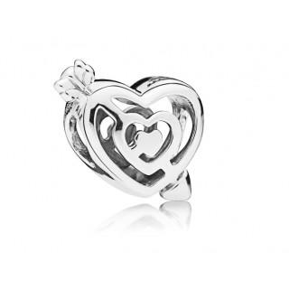 Pandora - Charm Coração e Flecha