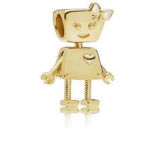 PANDORA - CHARM ROBOT GIRL 767141EN23
