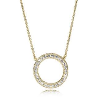 Pandora - Collar Shine Snake 45 cm, 367121CZ-45
