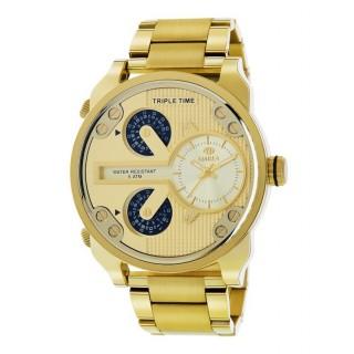 Reloj Marea Acero Dorado