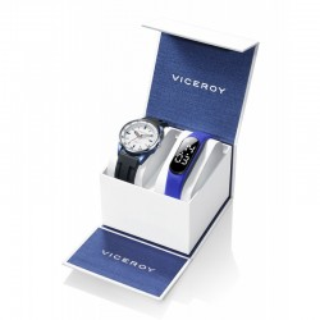 Conjunto Relógio Viceroy e SmartBand