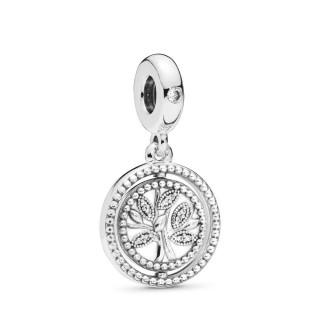 Pandora - Charm colgante Árbol de la vida, plata, 797786CZ