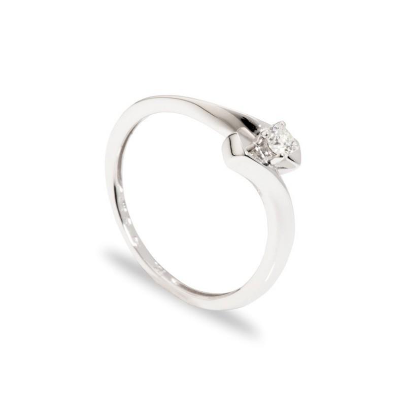 Anel Diamante 4 Garras