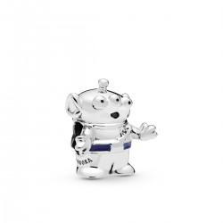 Charm Pandora 798045EN82 Marcianito Toy Story azul de plata