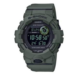 Relógio Casio G-Shok GBD-800UC-3ER, com pulseira de resina verde para homem