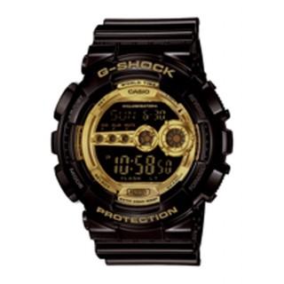 Reloj Casio G-Shok GD-100GB-1ER, con correa de resina negra para hombre