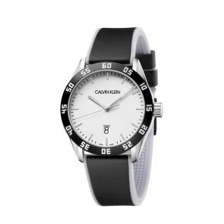 Relógio Calvin Klein K9R31CD6 Compete masculino com pulseira de aço preto