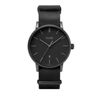 Reloj Cluse Aravis CW0101501010 para caballero con correa negra y esfera negra
