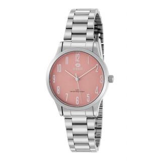Reloj Marea B41242/6 para mujer con correa de acero y esfera salmón, 5 ATM