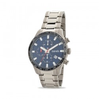 Reloj Borelli C3548TG-MALITA 1 multifunción para hombre con correa de titanio y esfera azul