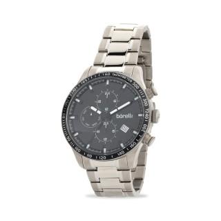 Reloj Borelli C3548TGM-A multifunción para hombre con correa de titanio y esfera negra