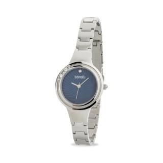 Reloj Borelli C3553SLXCLOSC1 para mujer con correa de acero y esfera azul