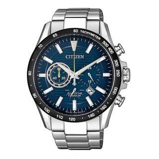 Relógio Citizen Supertitânio CA4444-82L para homem com esfera azul