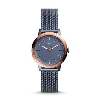 Reloj Fossil Neely ES4312 para mujer con correa milanesa y esfera gris, 3 ATM
