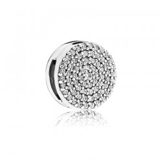 Charm Pandora Reflexions 797583CZ clip de plata con circonita