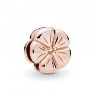 Charm Pandora Reflexions 787897 de plata rose en forma de flor clásica