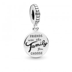 Charm Pandora 798124EN16 Family & Friends de plata