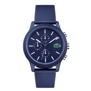 Reloj Lacoste 1212 para hombre 2010970 con correa de silicona azul, 5 ATM
