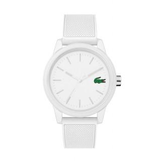 Reloj Lacoste 1212 para hombre 2010984 con correa de silicona blanca, 5 ATM