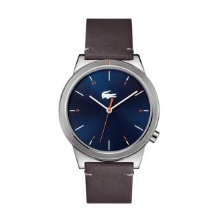 Reloj Lacoste Motion 2010990 para hombre con correa de cuero caqui, 5 ATM