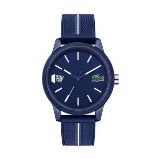 Reloj Lacoste 1212 para hombre 2011043 con correa de silicona azul, 5 ATM