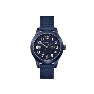 Reloj Lacoste 1212 Kids 2030024 con correa de silicona azul, 5 ATM