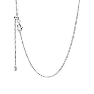 Cadena Pandora 398283-60 de plata deslizante, 60 cm
