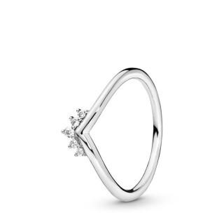 Anillo Pandora 198282CZ de plata deseo tiara con circonita