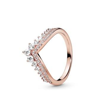 Anillo Pandora 187736CZ de plata rose deseo princesa