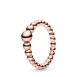 Anillo Pandora 187536 de plata rosa cadena de cuentas