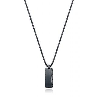 Collar Viceroy 15012C01010 para hombre de acero en forma de placa