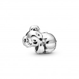Charm Pandora 798431C01 de plata en forma de koala